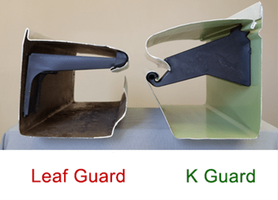 Larger and Stronger Leaf Free Gutter Guards